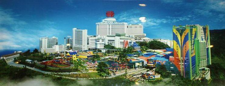 how to go to genting highlands from kl sentral